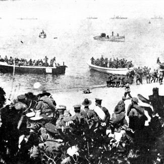 Anzac cove state library qld collection